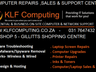 Computer Repairs , Sales & Support Centre.