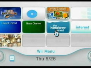 Nintendo Wii Software Upgrade