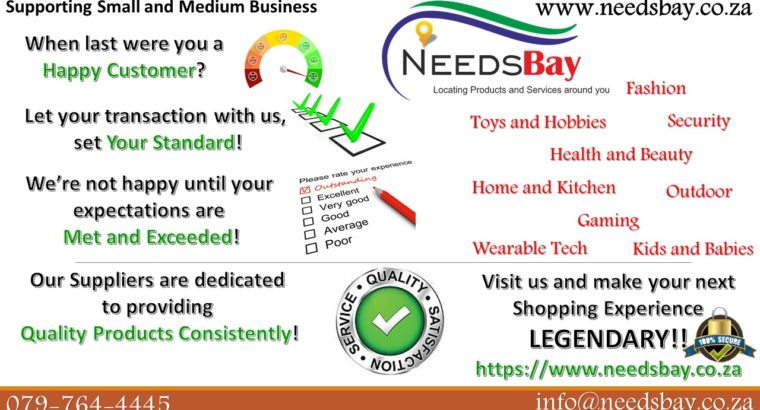 Needsbay.co.za : Plainly Stated