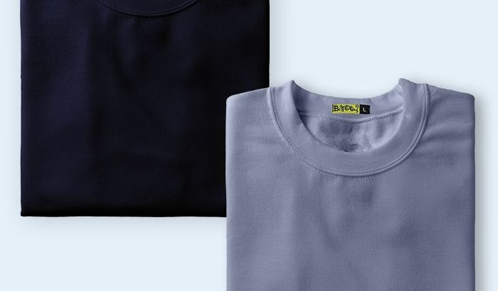 Get Plain t-shirts for Men Online India at Beyoung