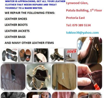 TOKKIE & TOFFIE Tailors/FASHION DESIGNERS LEATHER